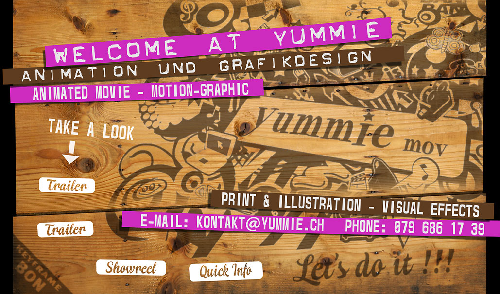 Yummie, Animationsfilm, Trickfilm, Film, Video, Grafik, Comic, Design, Illustration, Gestaltung, Yumm, Animation, Yummy, Basel, Idee, Sound, Filmmusik, Kreativ, Abgefahren, Yummyumm, Schräg, Durchstarten, 3D, After Effects, Rehbein, Messmer